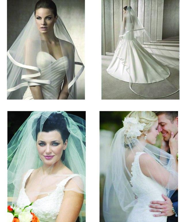 new bridal veils