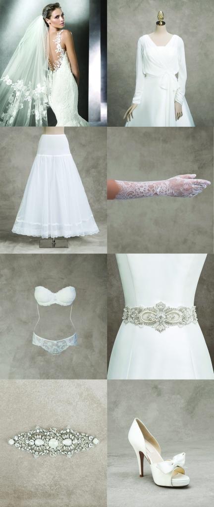 Dodaci koje možete kupiti uz svoju Pronovias haljinu