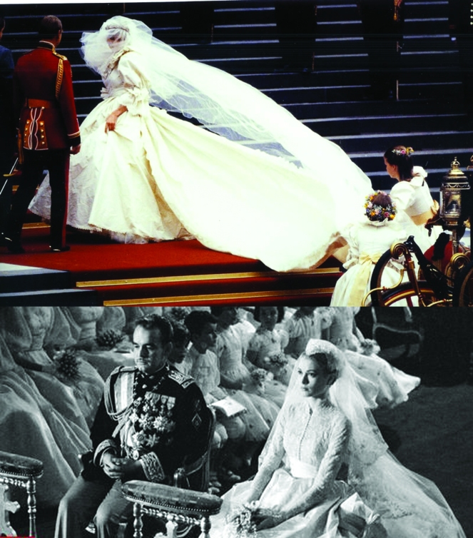 royal bridal veils