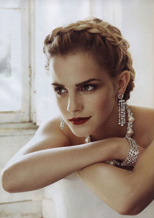emma watson in Italian Vogue