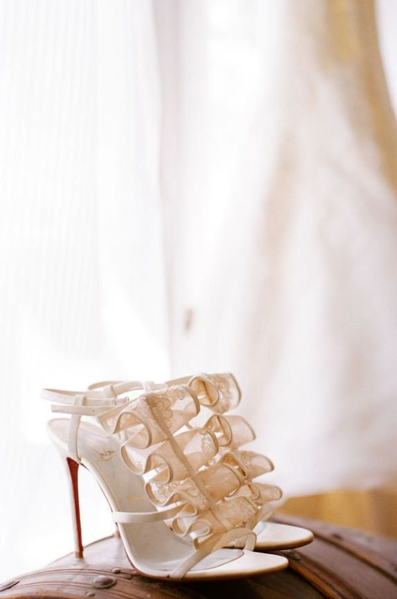 Lace-ruffles-wedding-heels