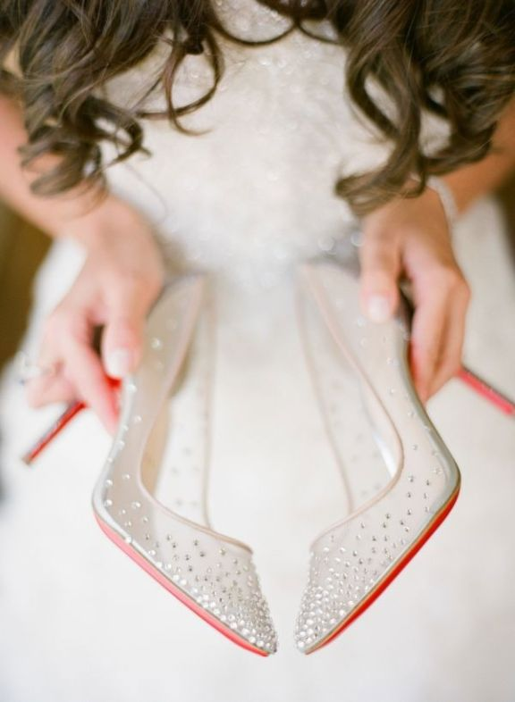 nude-Christian-Louboutin-wedding-shoes