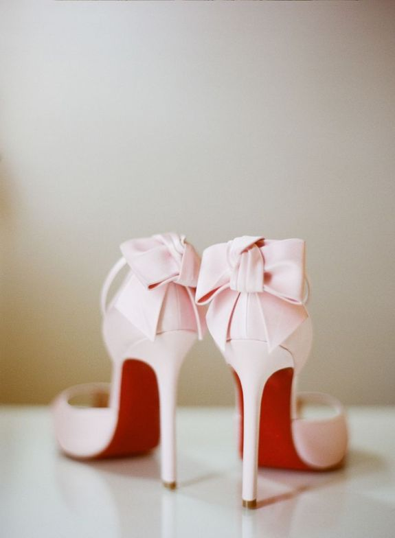pink-bows-wedding-heel-shoes