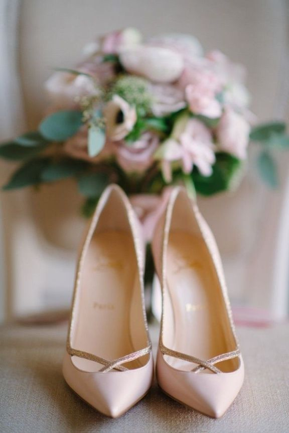 Pink-Christian-Louboutin-Wedding-Shoes